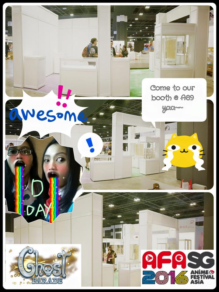 Ghost Parade Booth A89